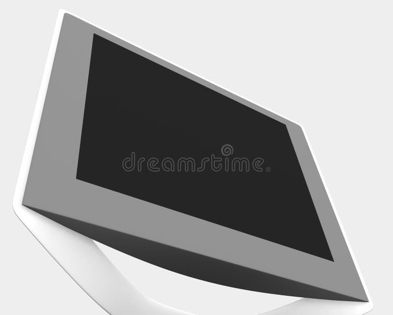 LCD monitor 02 stock illustratie