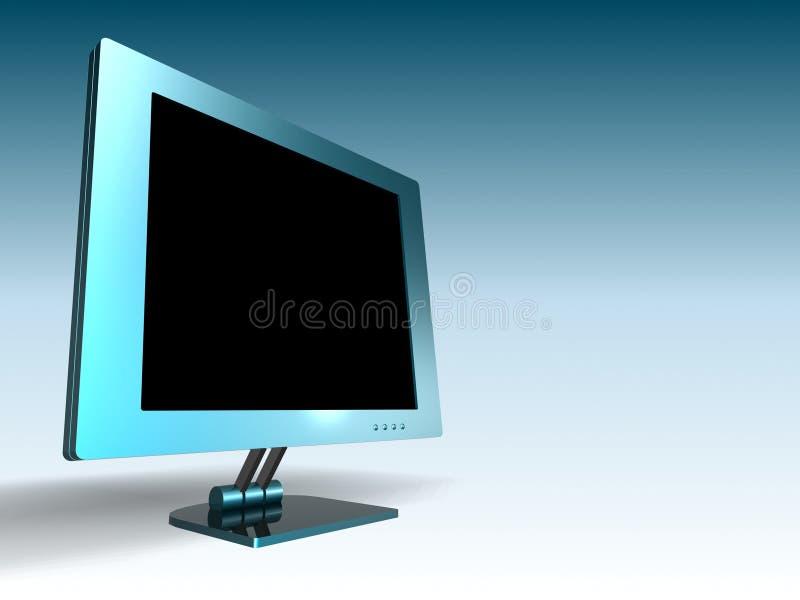LCD MONITOR stock illustratie