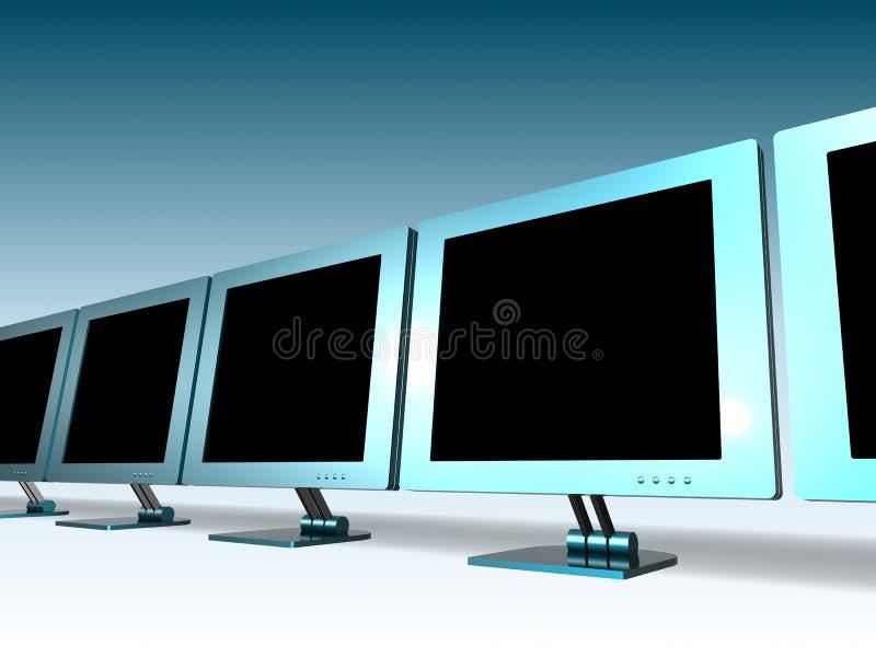 LCD MONITOR vector illustratie