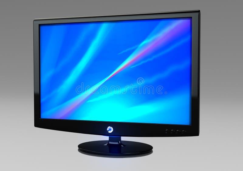 LCD Monitor royalty free illustration