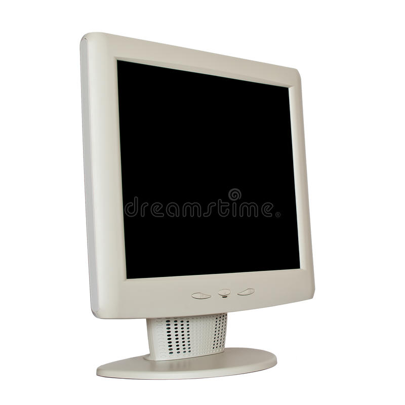lcd monitor obraz royalty free