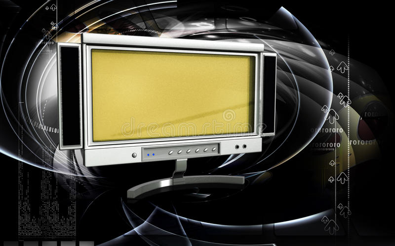 Download LCD Monitor Royalty Free Stock Image - Image: 16028066