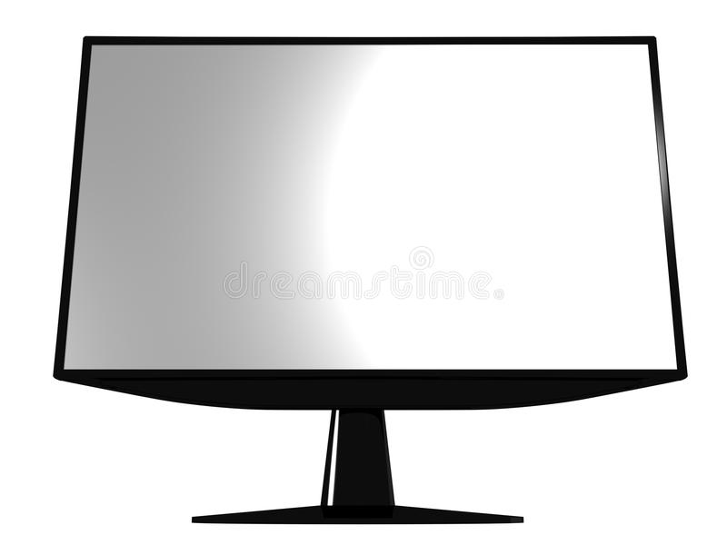 Download Lcd monitor stock illustration. Illustration of shines - 18920379