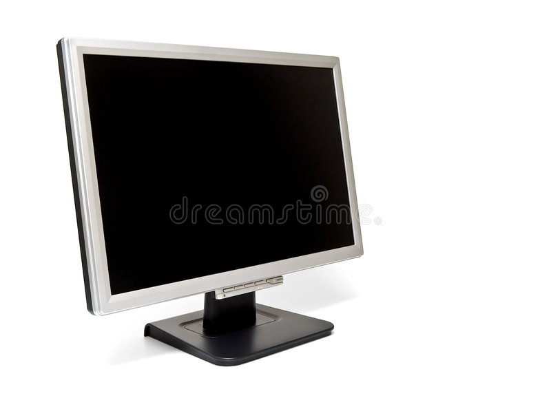 LCD Monitor #2 Royalty Free Stock Images