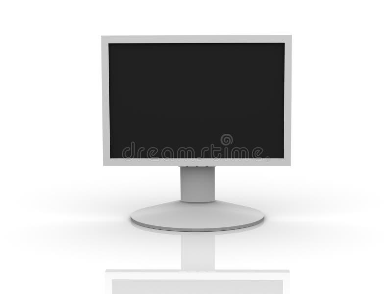 Download LCD Monitor stock illustration. Image of plasma, monitor - 2739702