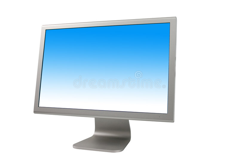 Download LCD Monitor stock illustration. Image of equipment, business - 80828
