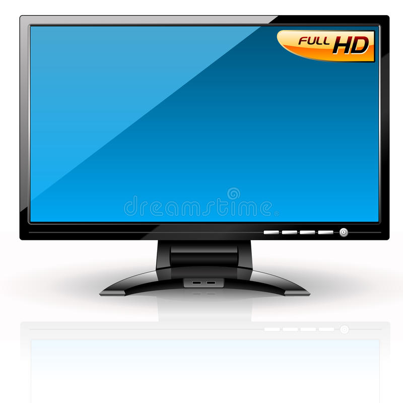 Download LCD Panel: Blue Variant. Royalty Free Stock Photography - Image: 9503587