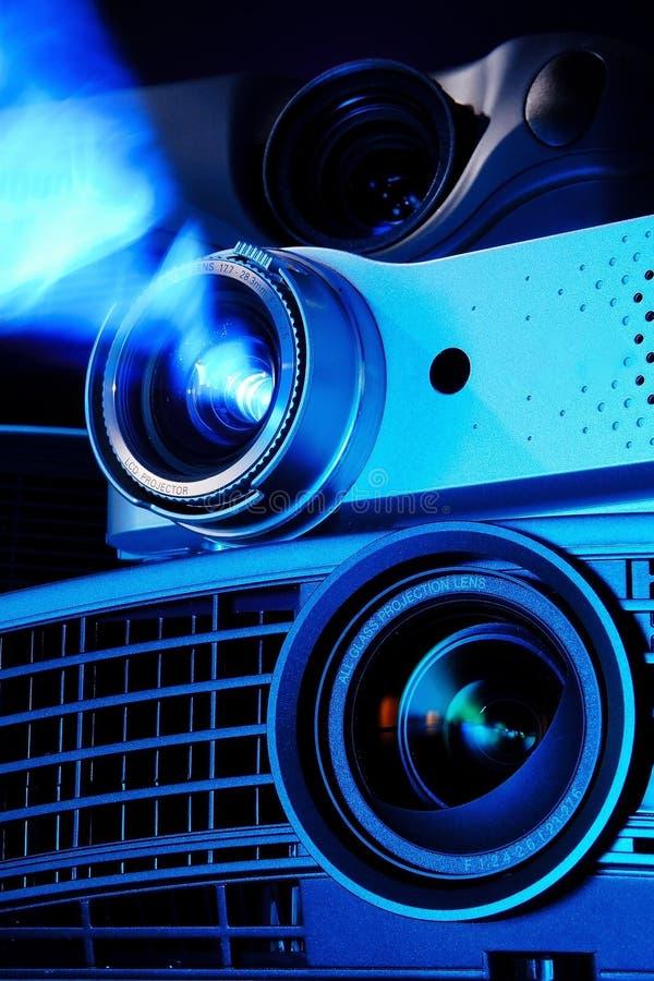 LCD projektory zdjęcia royalty free