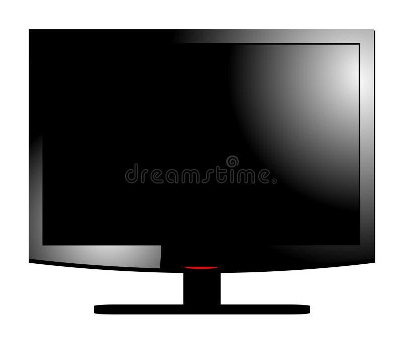 LCD Screen vector illustration