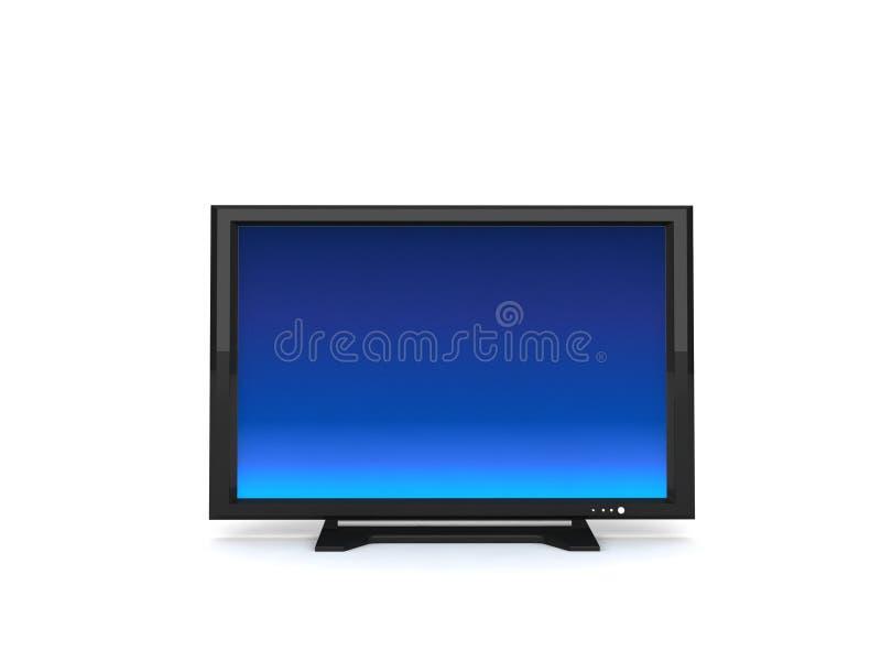lcd-television vektor illustrationer