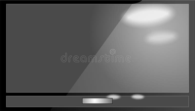 LCD telewizja zdjęcia stock