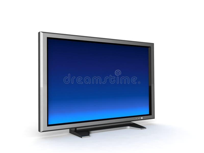 lcd telewizja ilustracja wektor