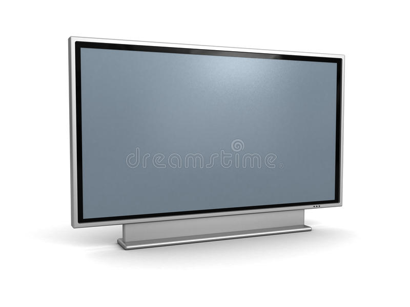 Lcd TV libre illustration