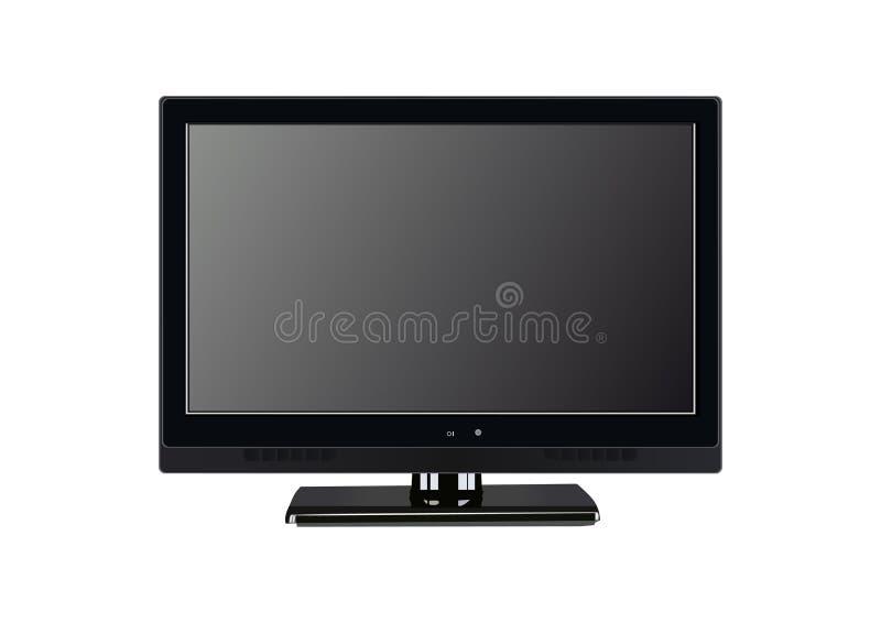 lcd tv иллюстрация вектора