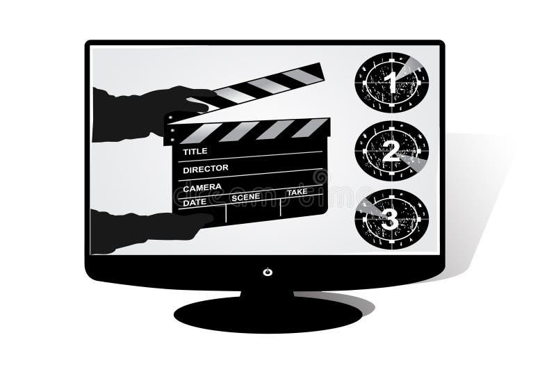 LCD TV libre illustration