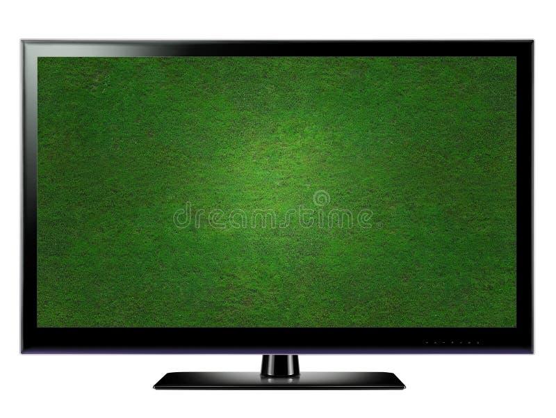 lcd-tv royaltyfri illustrationer