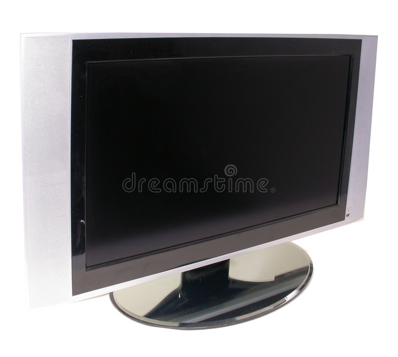 lcd tv obrazy royalty free
