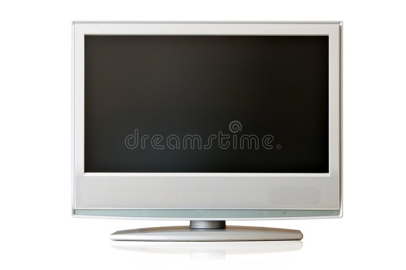 LCD TV stock photo