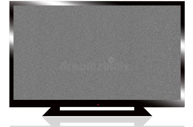 LCD-TV royaltyfri bild
