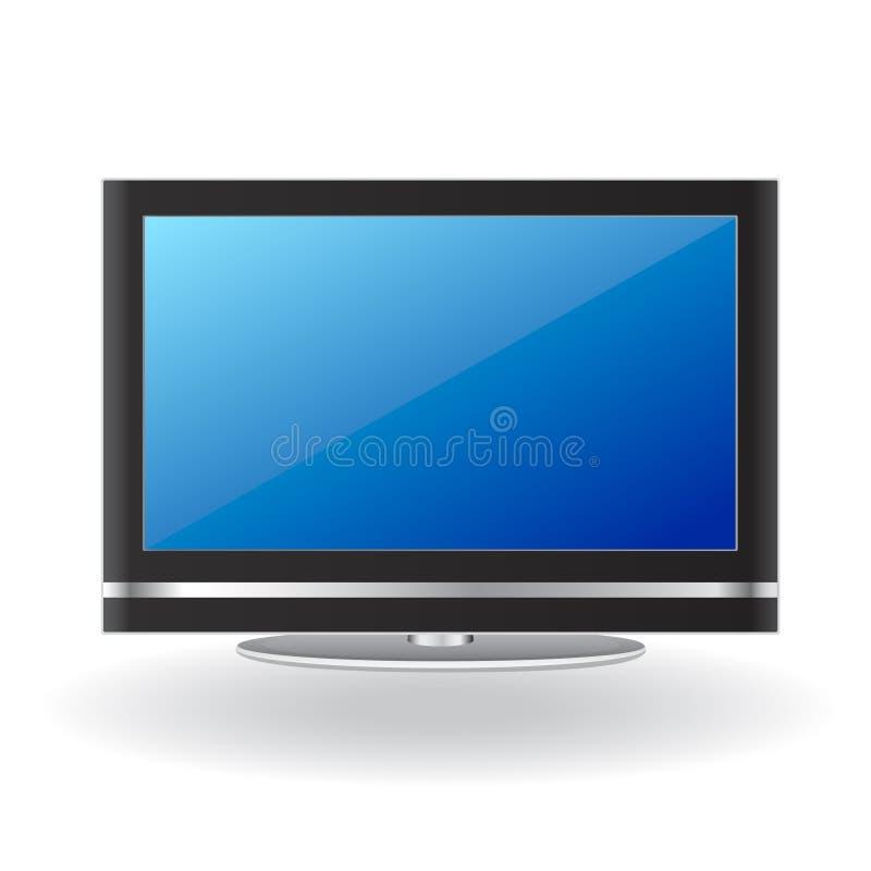 Lcd tv. Detail illustration vector vector illustration