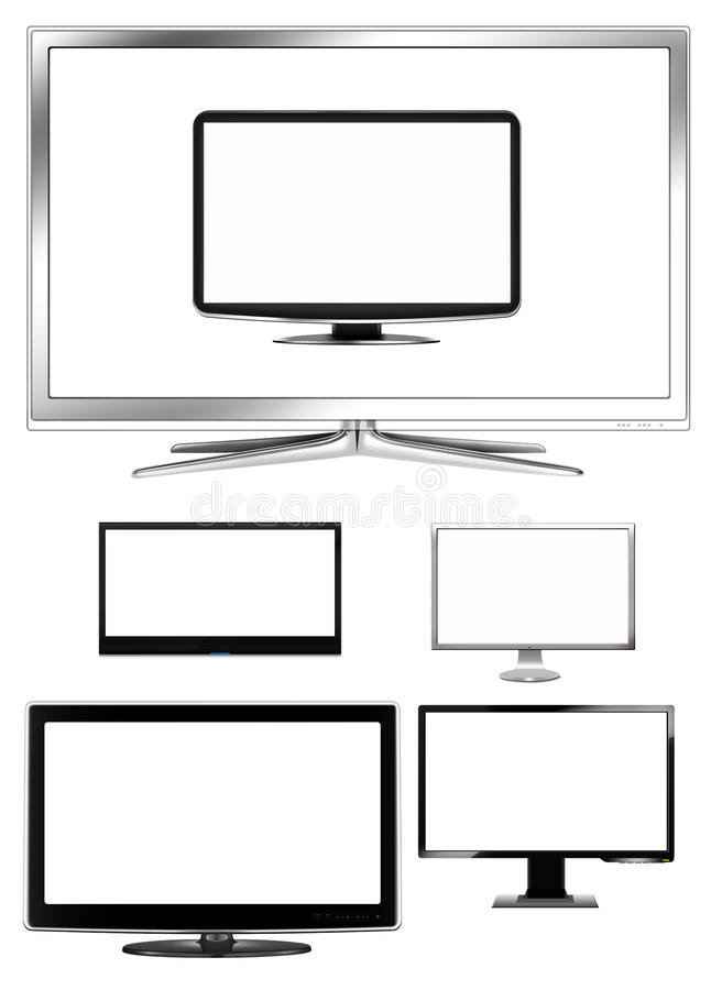 Download LCD TVs Collection Stock Photo - Image: 20782260