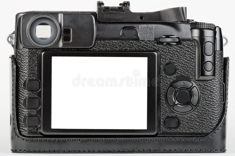 Download LCD View Of Well Used, Retro Style Digital Camera Stock Illustration - Image: 25150771