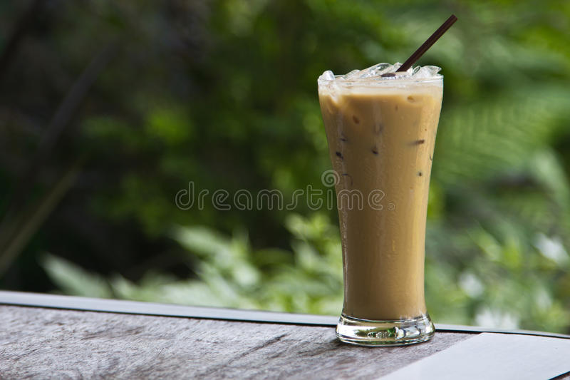 Lce καφές στοκ φωτογραφία με δικαίωμα ελεύθερης χρήσης