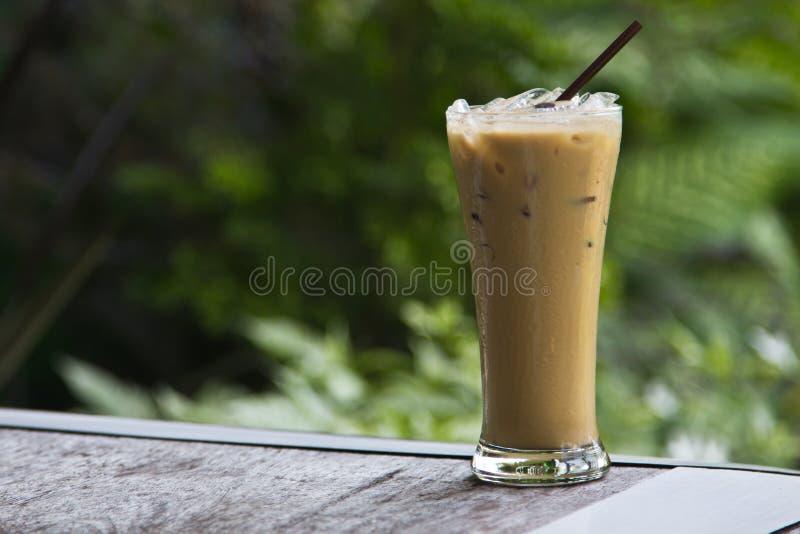 Lce koffie royalty-vrije stock fotografie