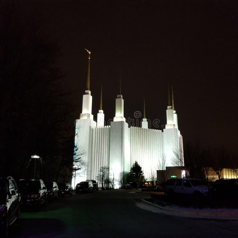 2017 Lds Ουάσιγκτον Δ Γ Ναός στοκ φωτογραφία με δικαίωμα ελεύθερης χρήσης