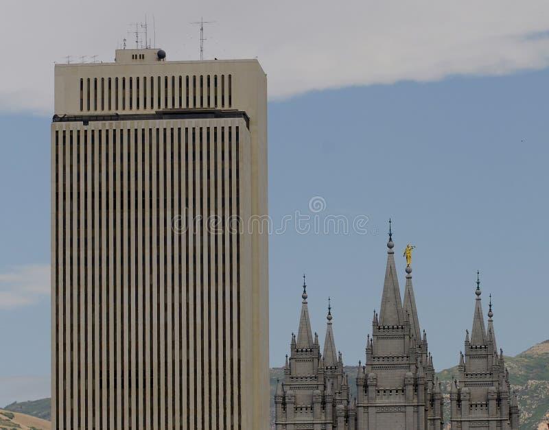 lds зданий стоковые фото