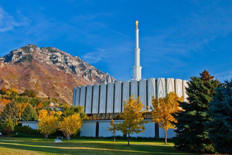 LDS Provo świątynia zdjęcie stock