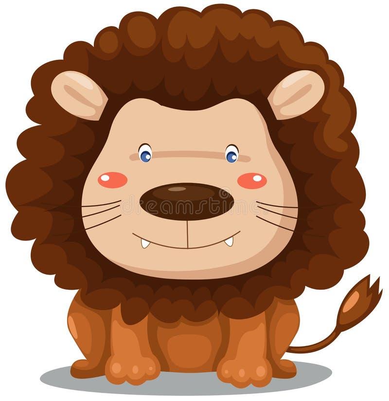 Leão ilustração do vetor