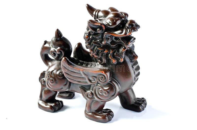 Leão chinês imagem de stock