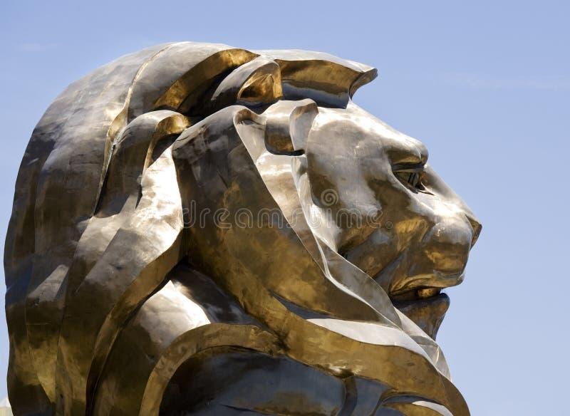 Leão de Las Vegas foto de stock