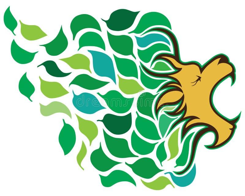 Leão de março ilustração royalty free