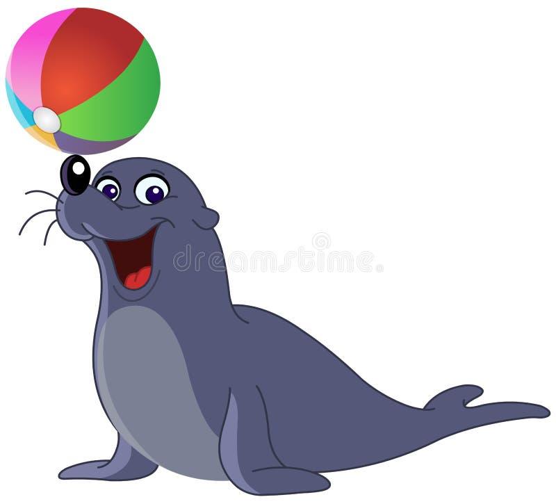 Leão de mar ilustração stock