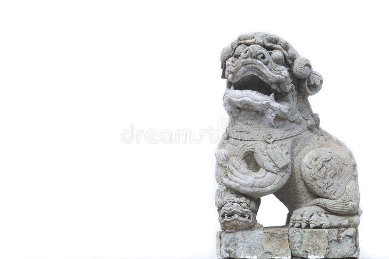 Leão de pedra imagem de stock royalty free