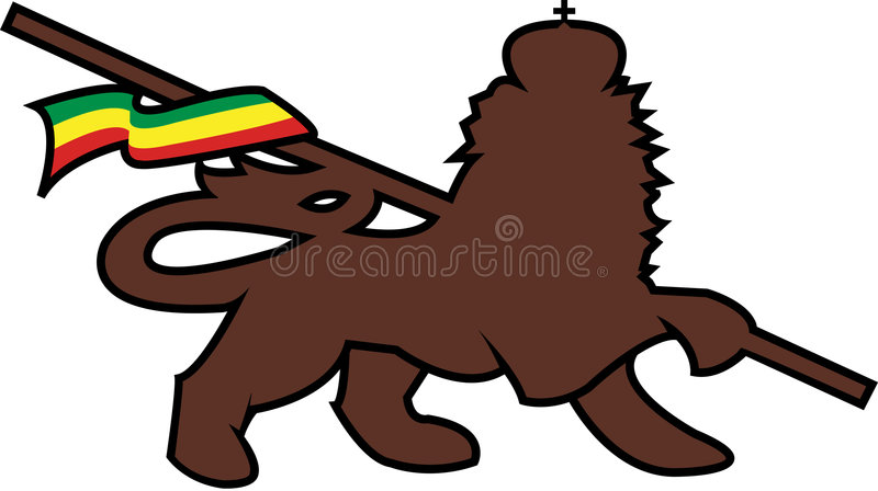 Leão do judah foto de stock royalty free