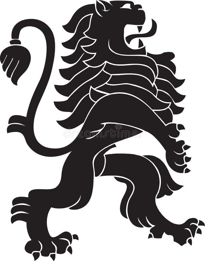 Leão heráldico