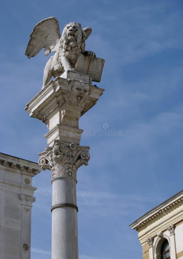Leão Venetian fotografia de stock