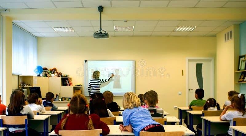 Leçon d'école Sur la leçon photos libres de droits