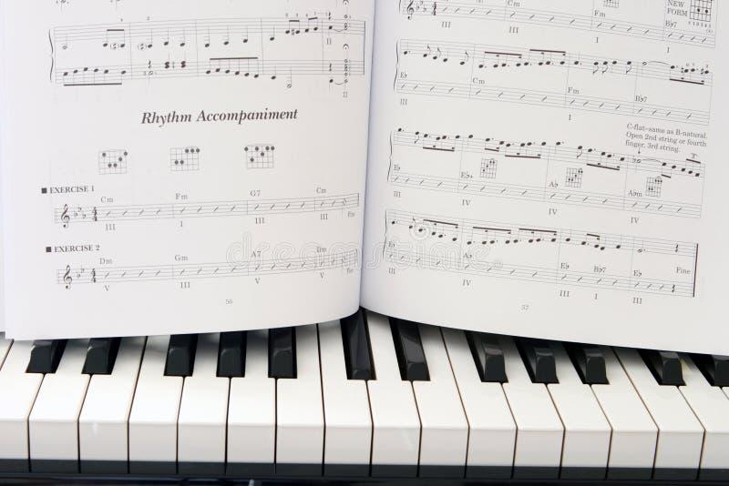 Leçons de musique photos stock