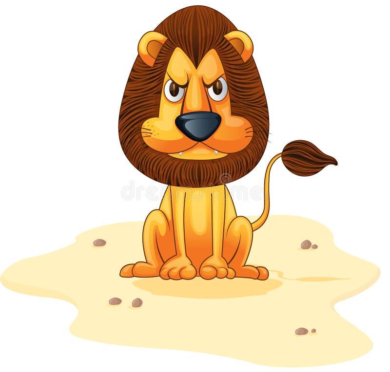 León stock de ilustración