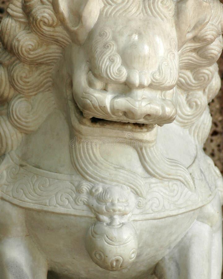 León chino fotografía de archivo