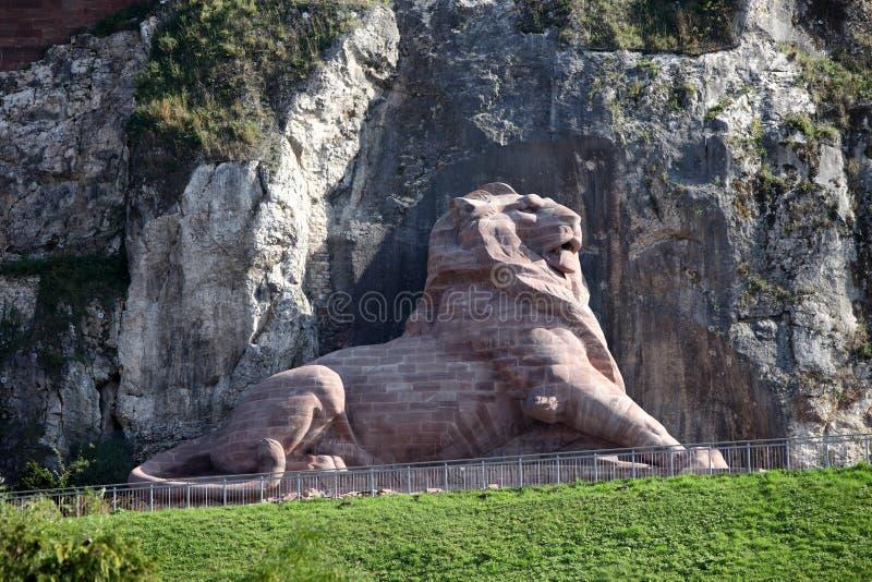 León de Belfort foto de archivo