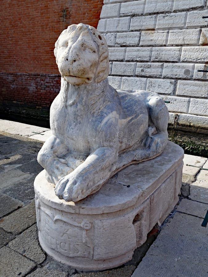 León de Venecia, Italia imágenes de archivo libres de regalías