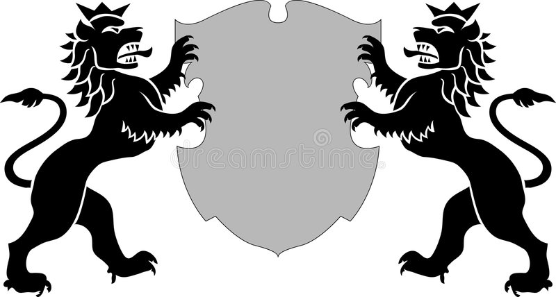 Leões ilustração do vetor