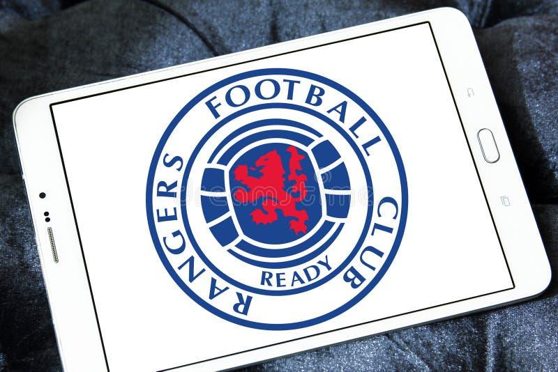 Leśniczowie F C Futbolu świetlicowy logo obraz royalty free