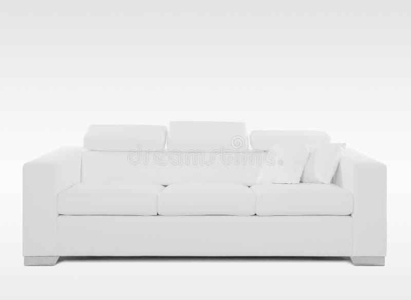 leżanka biel odosobniony rzemienny obrazy stock