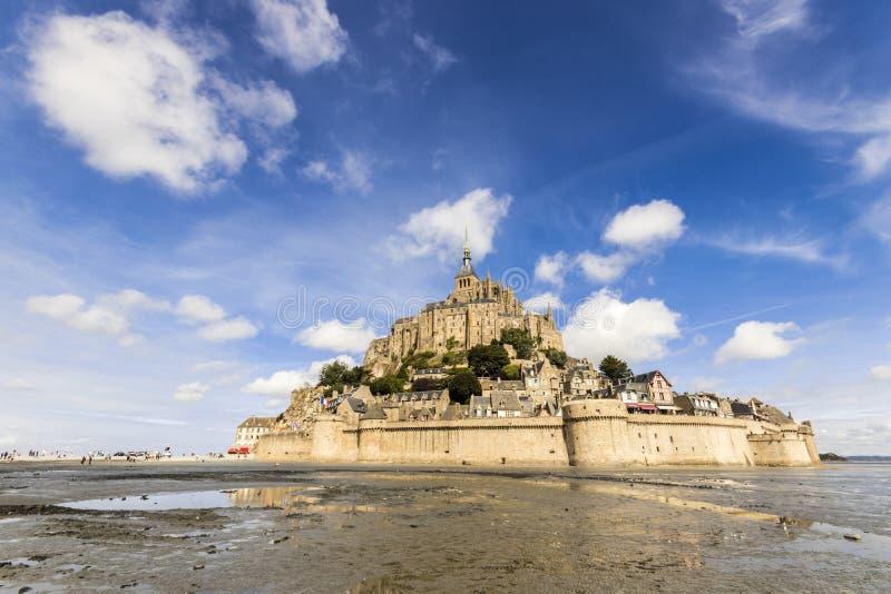 Le圣米歇尔山,法国 库存照片